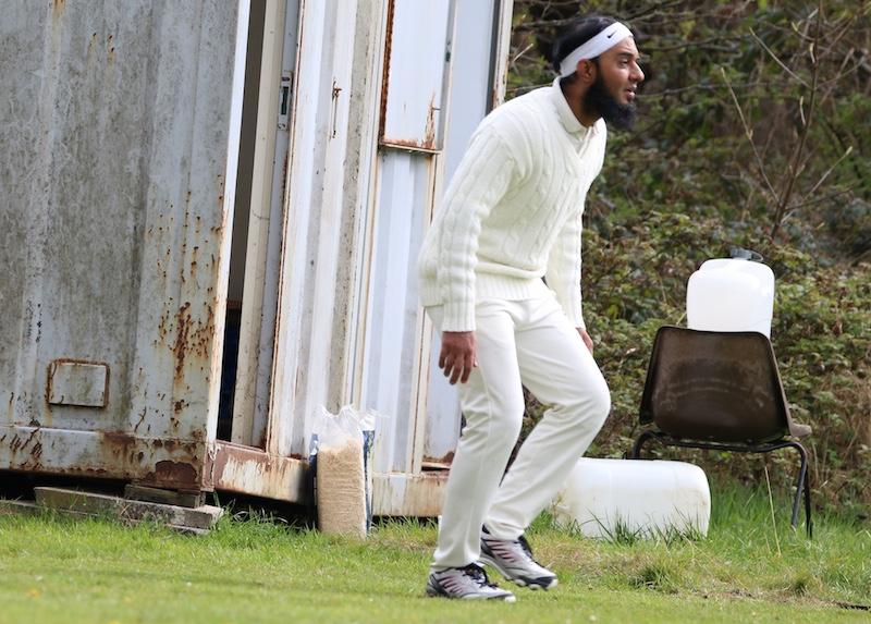 fielder at hirst wood cricket ground
