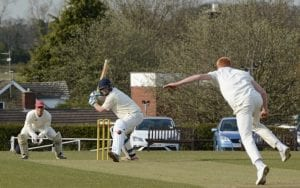 wetherby cricket league action