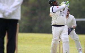 six by girlington cricket club batsman
