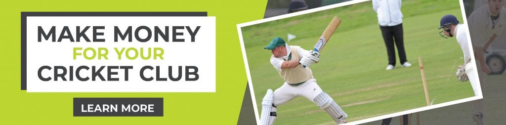 Make Money For Your Cricket Club Banner - Cricket Yorkshire