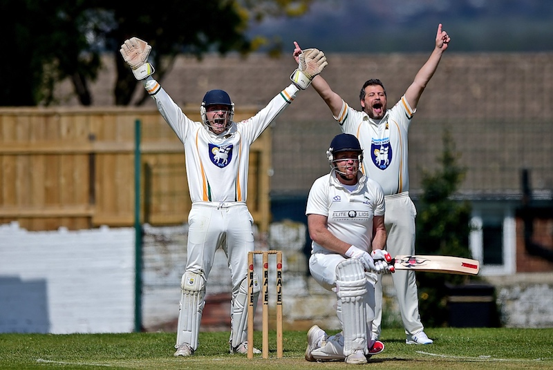 bradford league: james smith appeals at slip