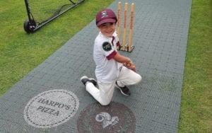 Flicx Cricket Pitch Sponsorship - Shadwell Junior