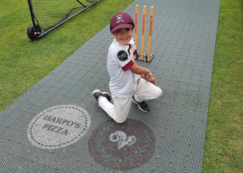 Flicx Cricket Pitch Sponsorship