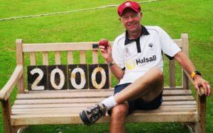 Nick Briggs - 2,000 wickets in Yorkshire club cricket
