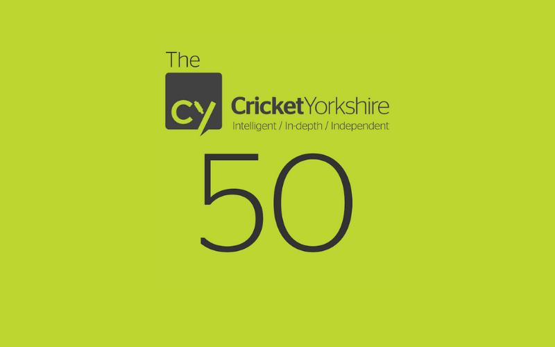 Cricket Yorkshire 50